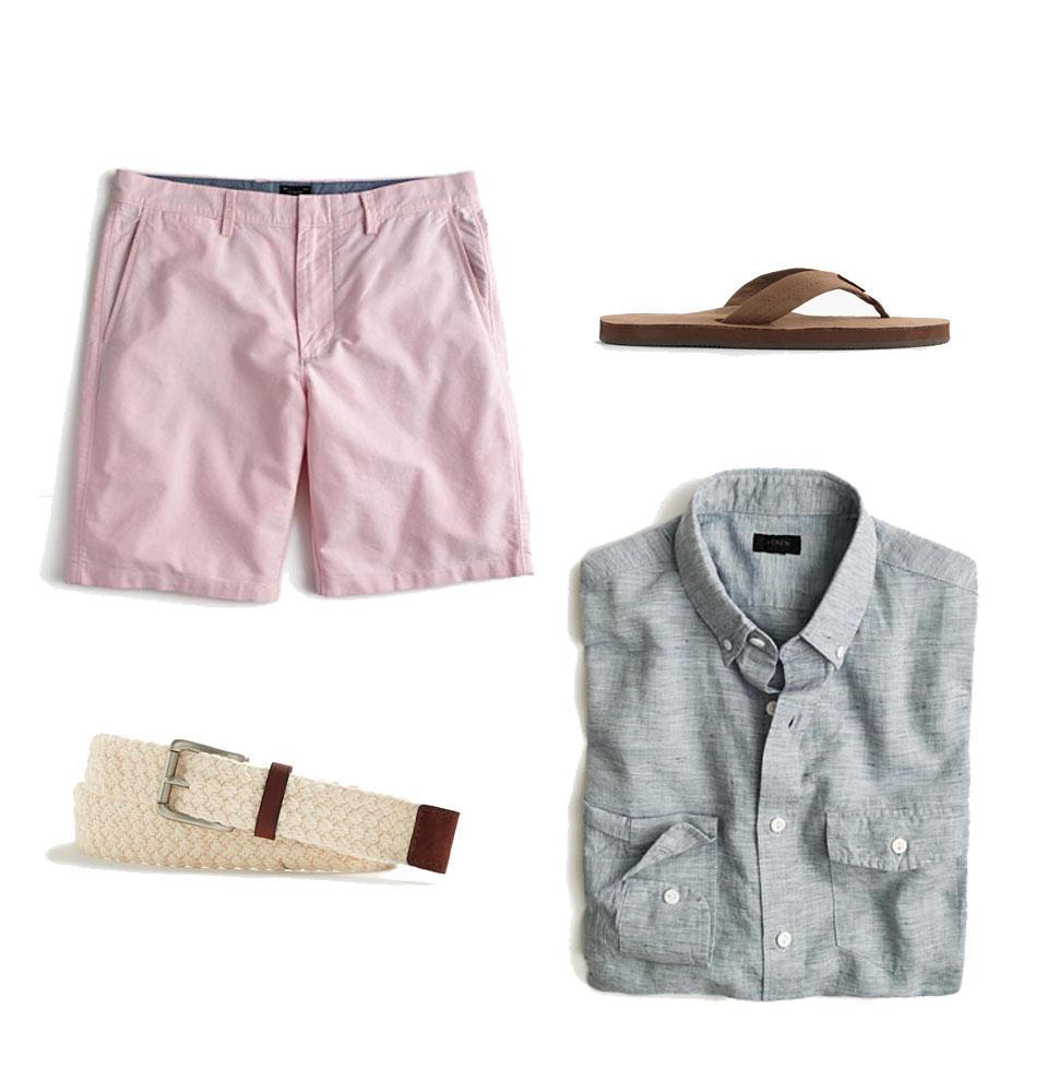 three ways to wear pink look 1