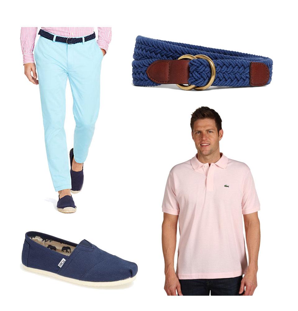 three ways to wear pink look 2