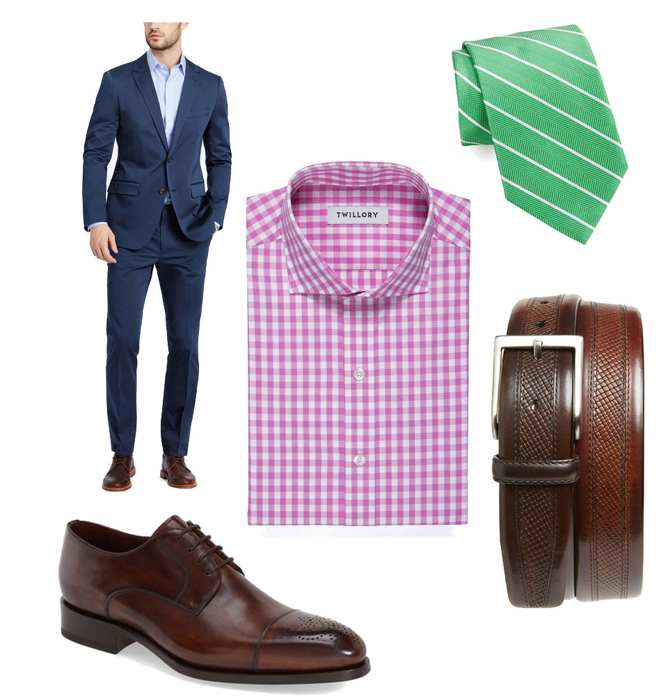 three ways to wear pink look 3