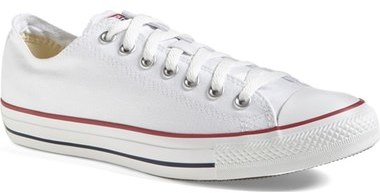 converse chuck taylor white low top sneaker