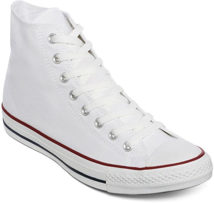 converse chuck taylor white high top sneaker
