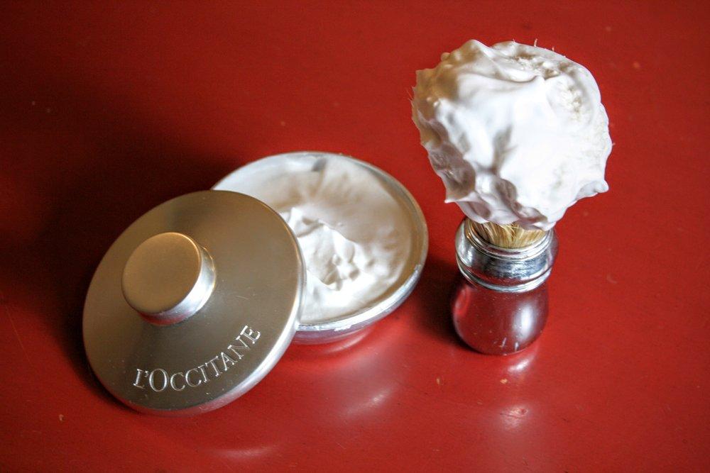 loccitane cade shaving soap review