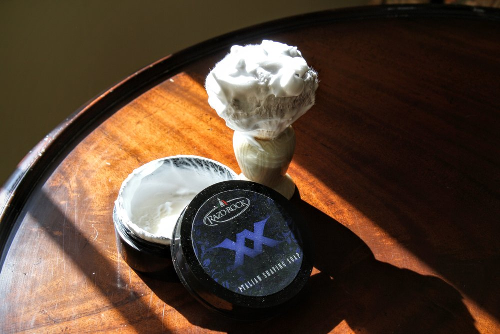 razorock xx shaving soap and aftershave review 1