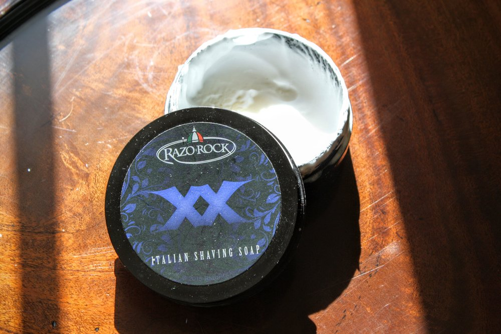 razorock xx shaving soap and aftershave review 2