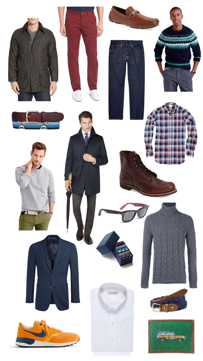 2016 gift guide casually styled man