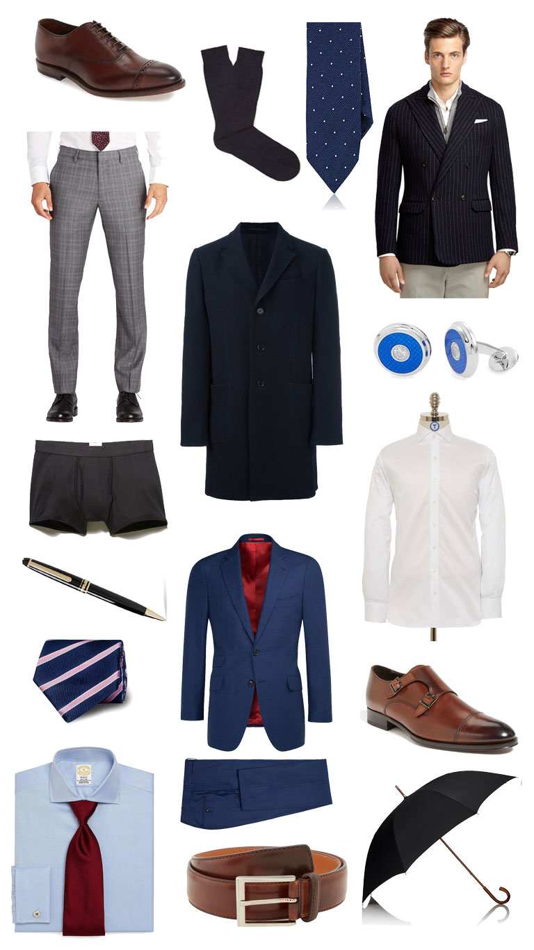 2016 holiday gift guide for the formally dressed man
