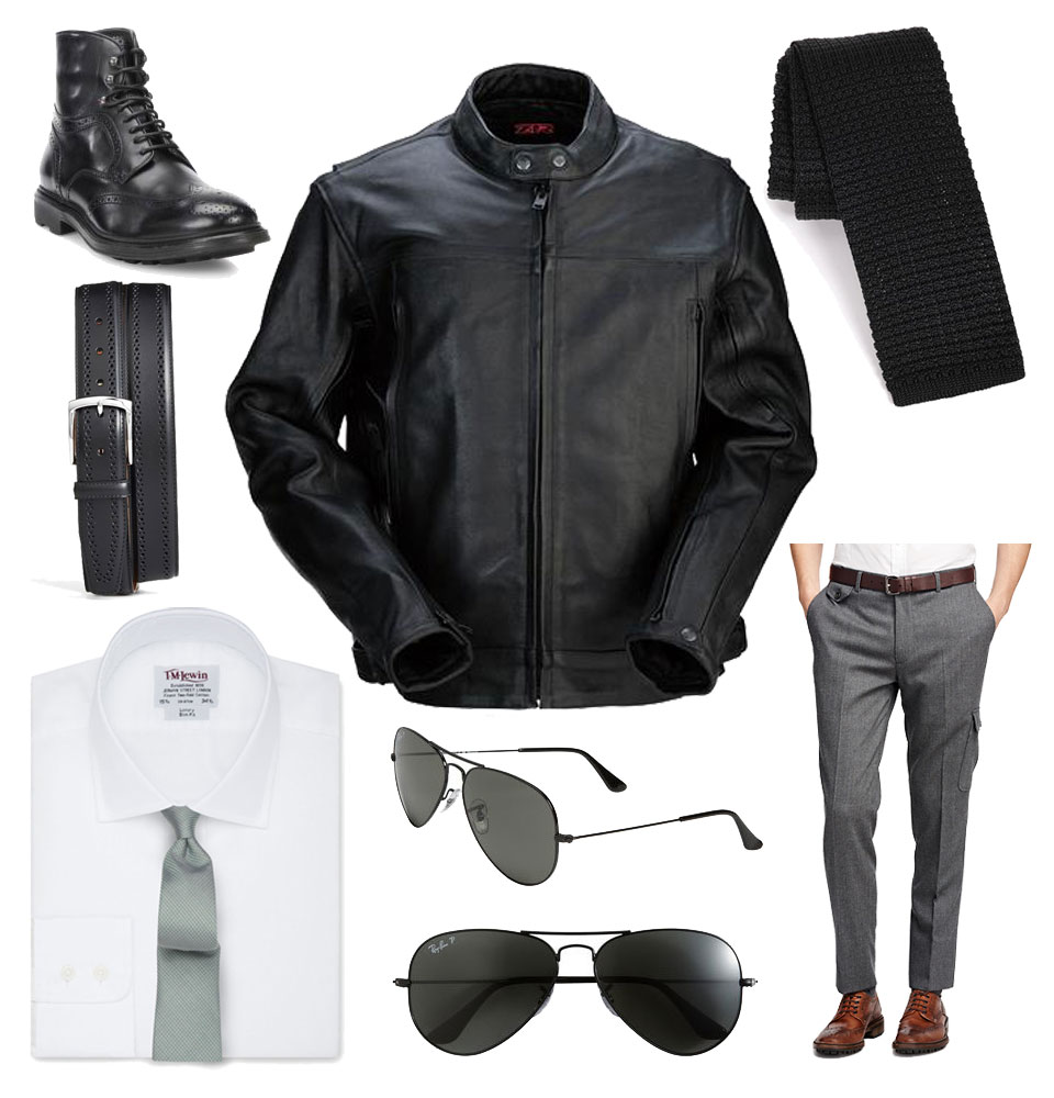 Outfit Inspiration: How to Style a Motorcycle Jacket Two Ways 1