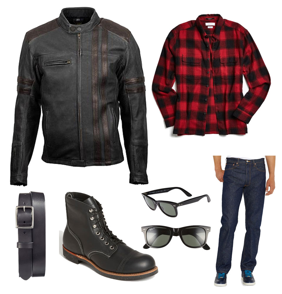 Outfit Inspiration: How to Style a Motorcycle Jacket Two Ways 2