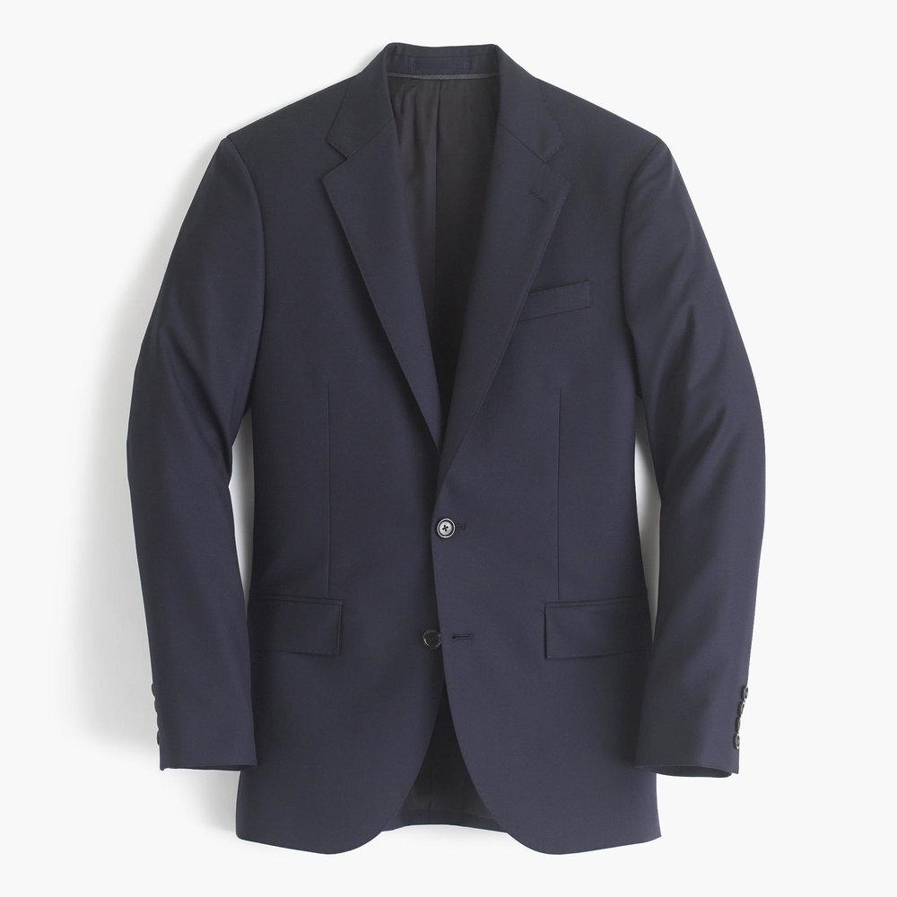 J.crew Ludlow wide-lapel suit jacket in Italian wool