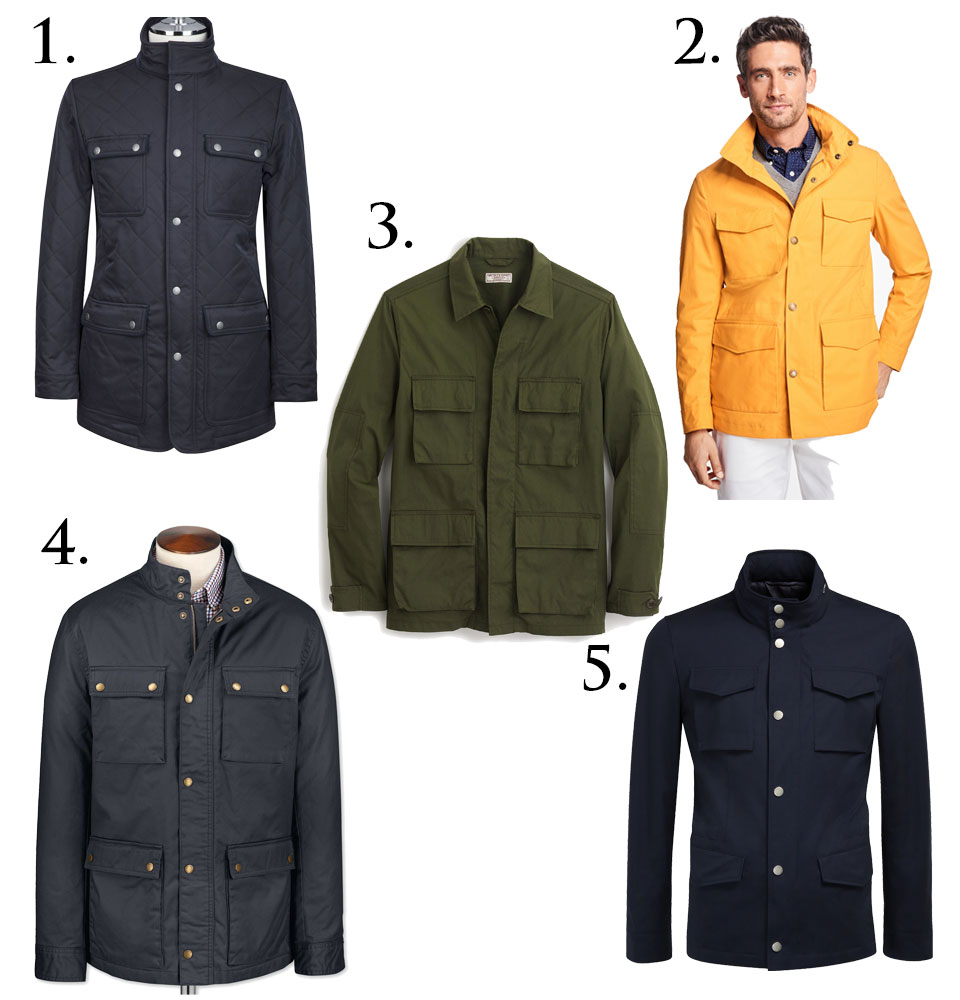 Field Jackets for Spring