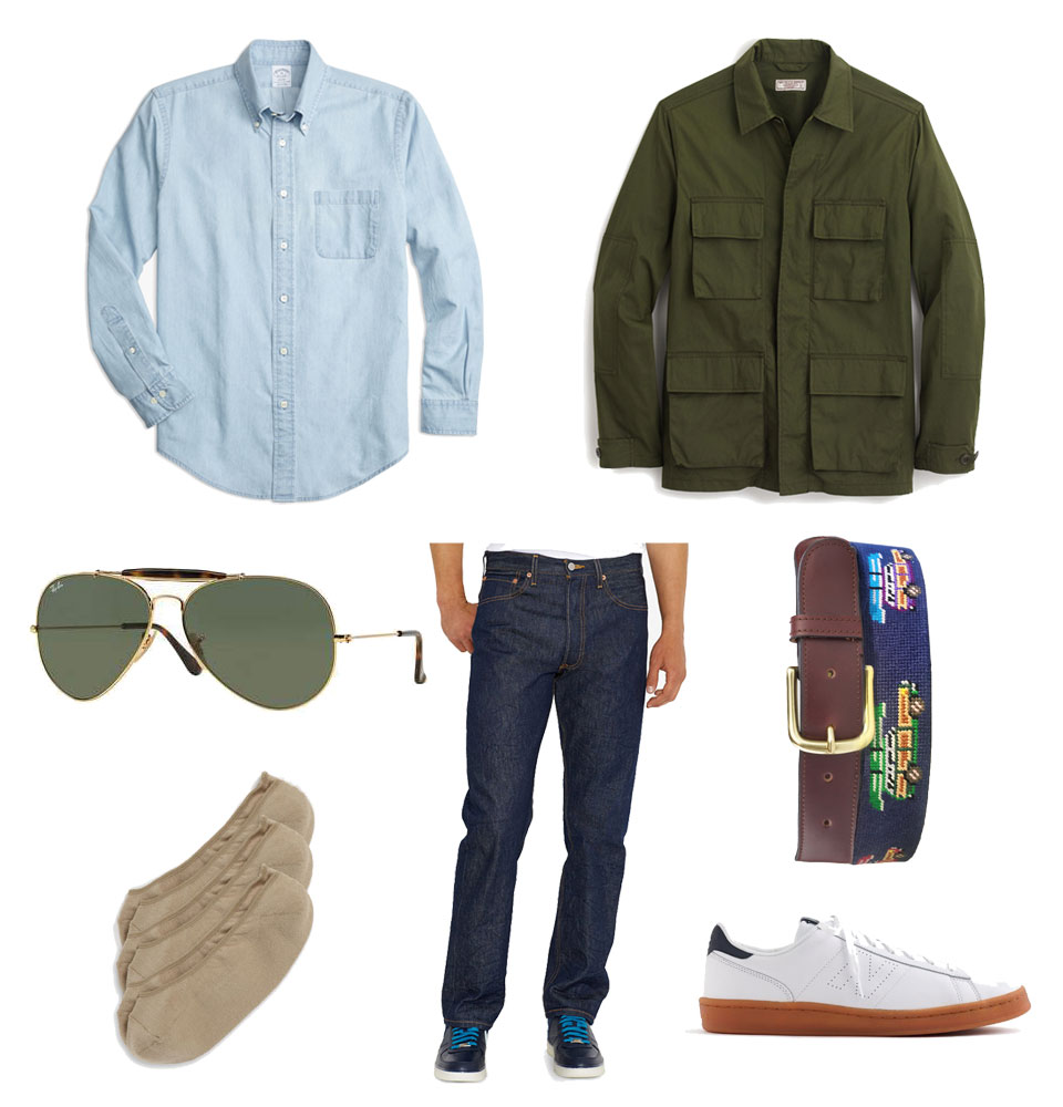 Casual Field Jacket Outfit for Spring
