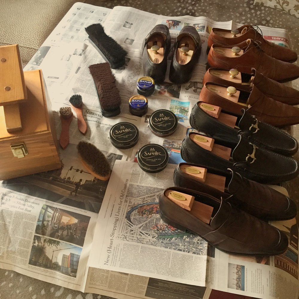 Five Rules of Men's Leather Shoe Care