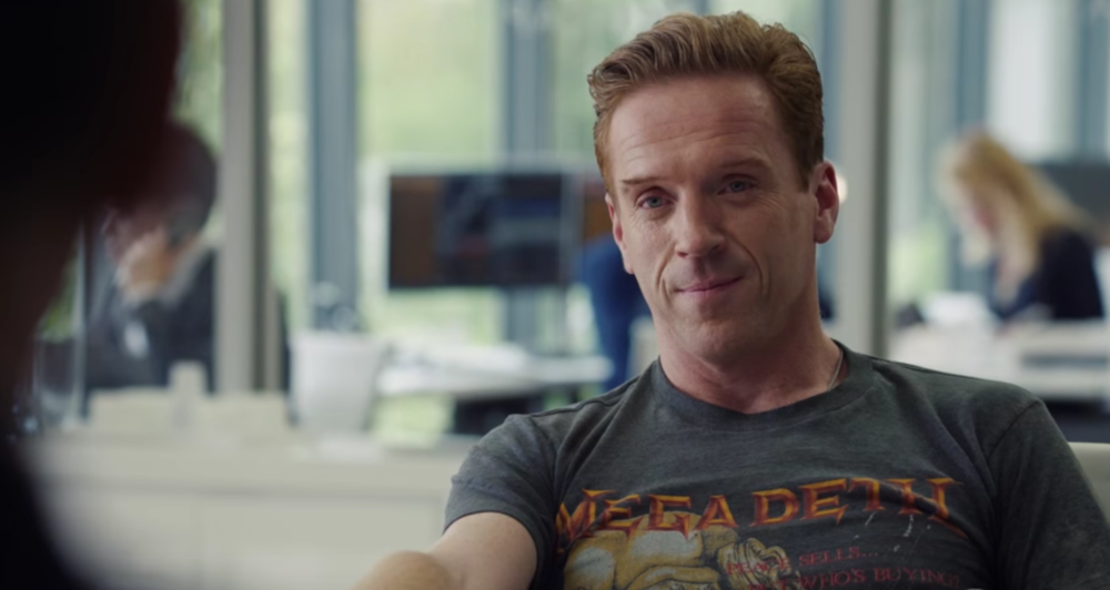 Bobby Axelrod pulls off a Megadeth t-shirt on Billions. Can you?