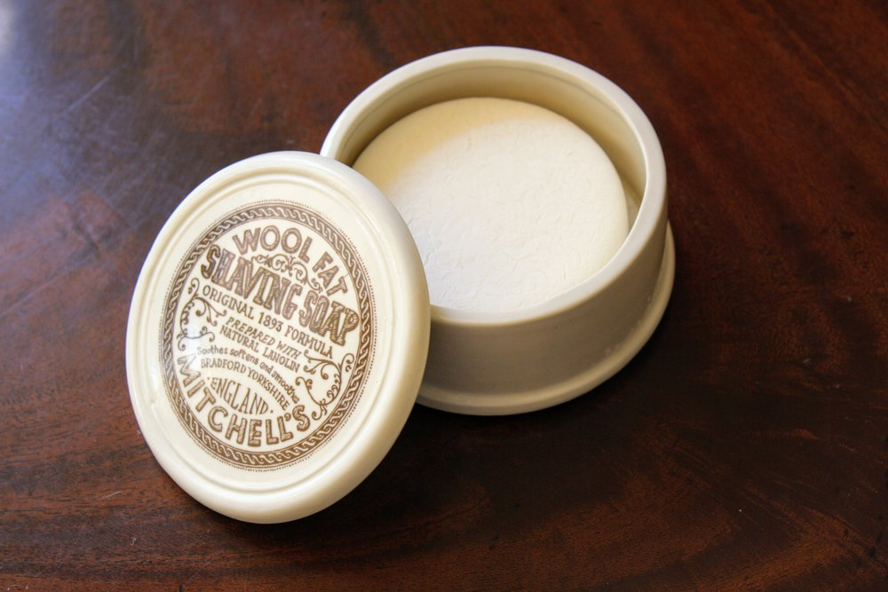 Mitchell's Wool Fat Shaving Soap Review