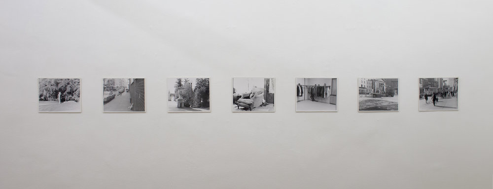Fred Escher ,  H-I-D-I-N-G , Waiting Room Installation View