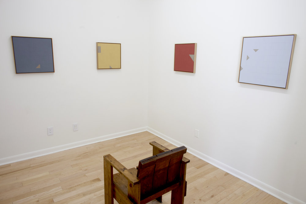 Tom Hackney,   Open Ground , Project Space Installation View
