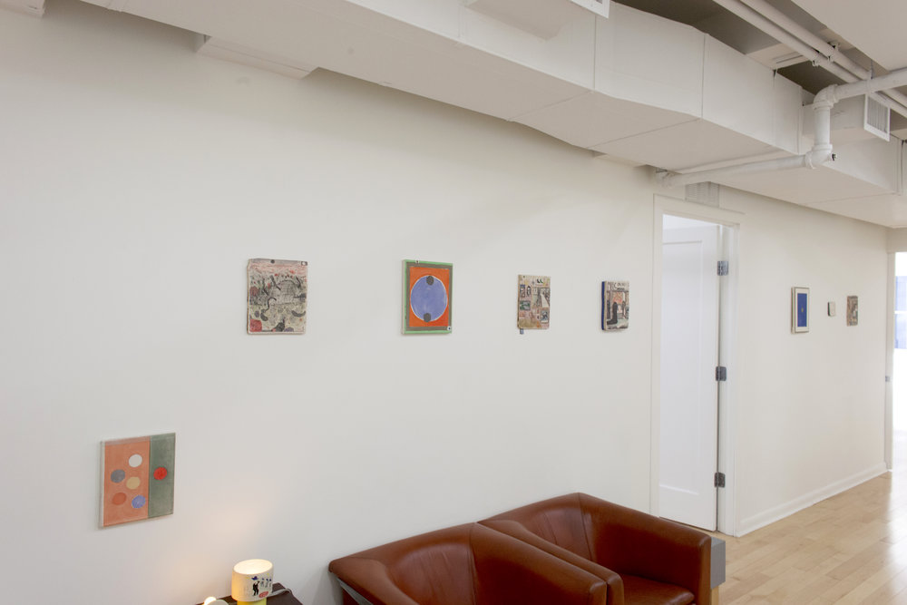 Kevin McNamee-Tweed ,  Slow Rocket , Waiting Room Installation View