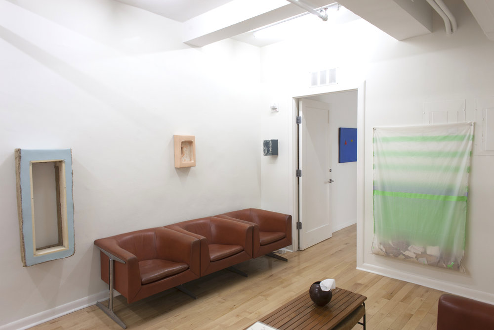 Howard Schwartzberg , Waiting Room Installation View
