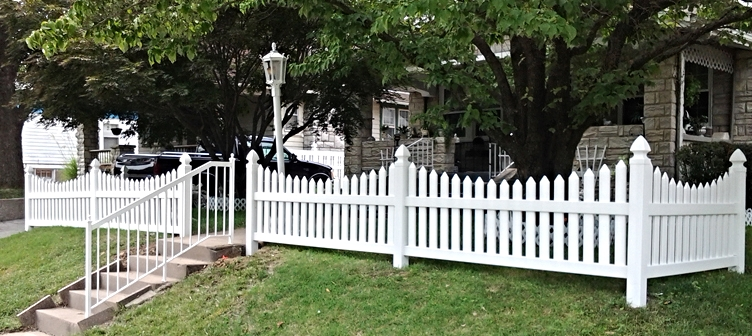 vinyl fence for yard