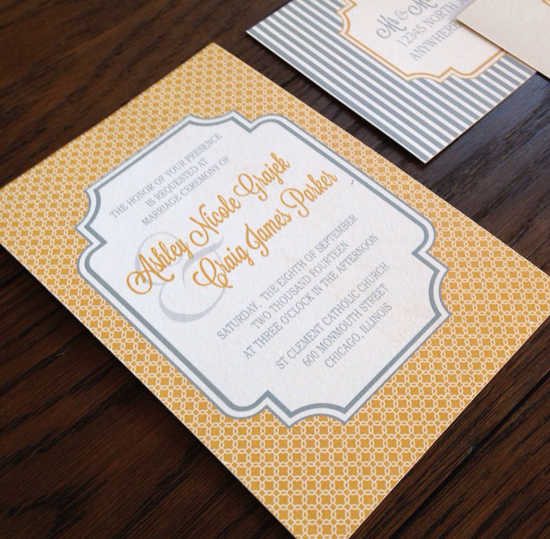 Charming Wedding Invitation