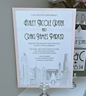 Customized Wedding Save the Dates by Ashley Parker Creative. Ashley Parker  Creative is a stationery design company that specializes in invitations and  paper