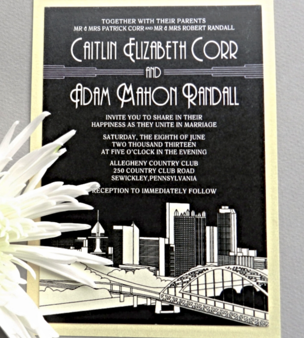 Wedding Invitations Ashley Parker Creative
