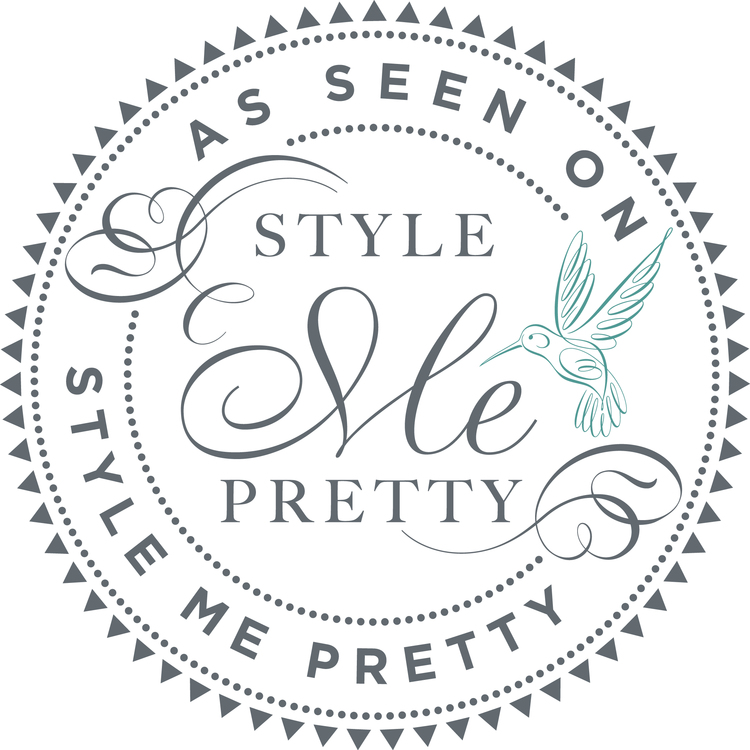 As Seen On Style Me Pretty Logo