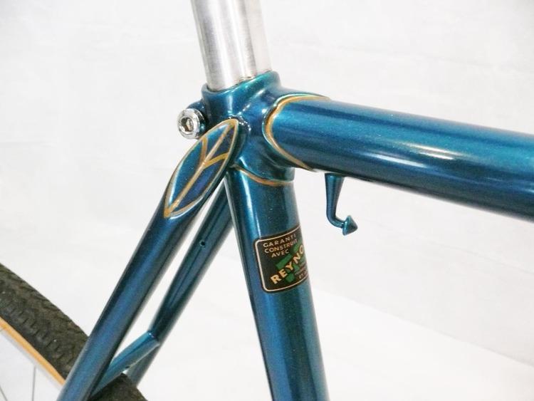 1968 Jeunet Franche Comte 531 Reynolds Tubing Frame & Fork \