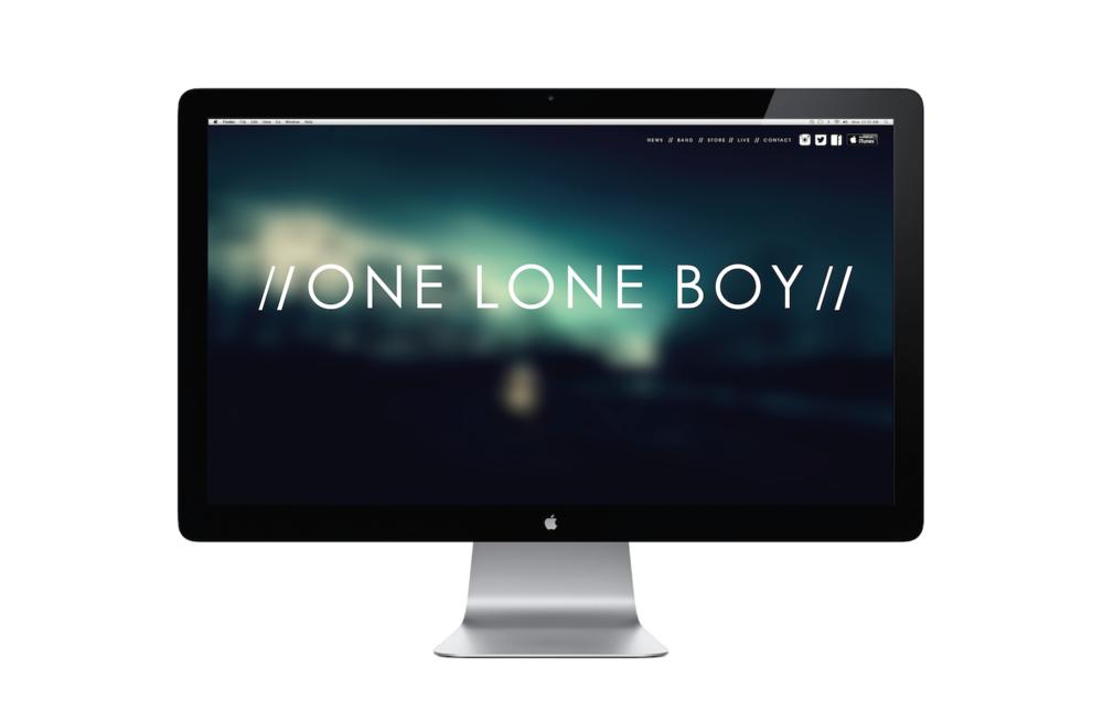 Brand Identity & Website  - // ONE LONE BOY  //