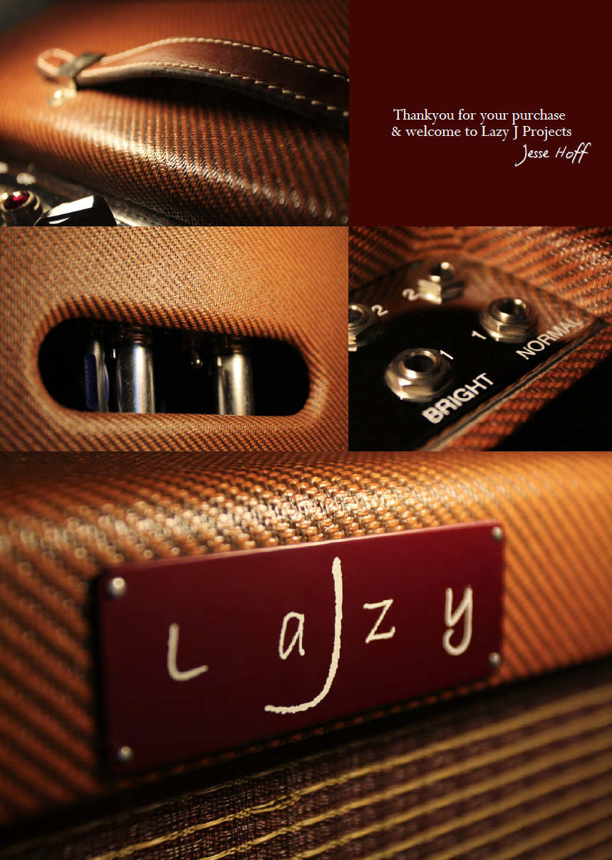 Lazy J - Boutique Guitar Amplification
