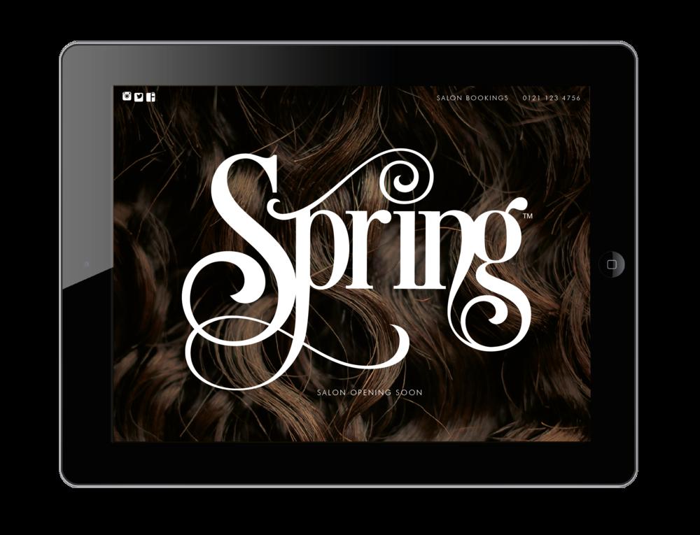 Spring Salon. Curls Redefined.