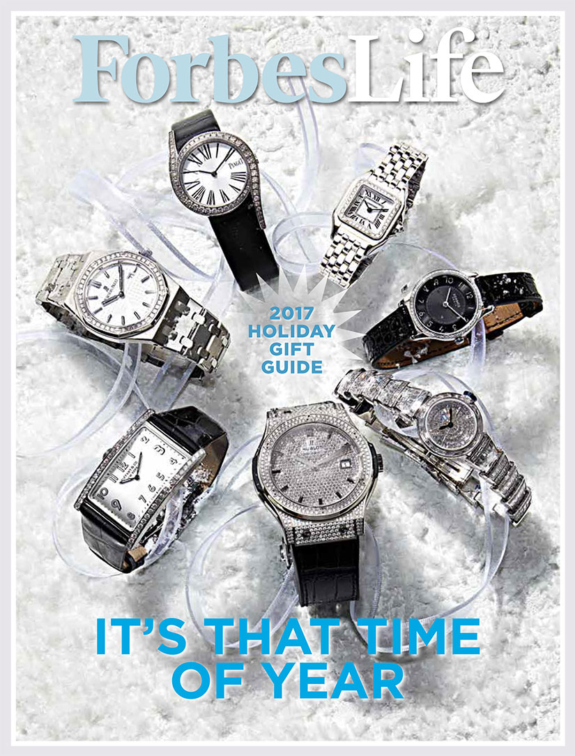 ForbesLife Holiday Gift Guide 2017: Dazzling Watches, Vivid Jewelry, Sumptuous Spirits and More