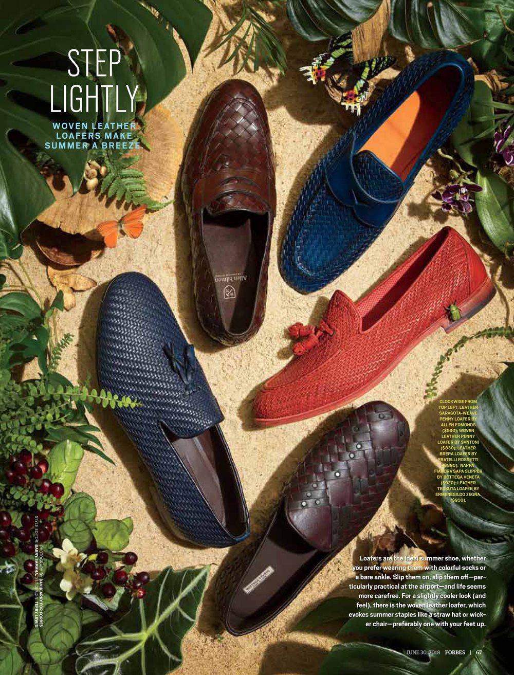 Step Lightly: The Best Woven Leather Loafers for Summer