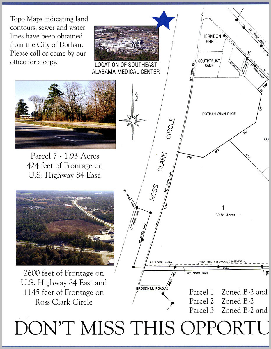 Dothan, AL Auction parcel map 1