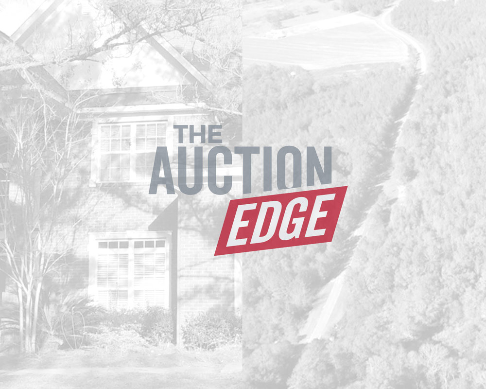 - If you need to settle an estate, would like to sell some property, or even invest in land or estate property, consider THE AUCTION EDGE.