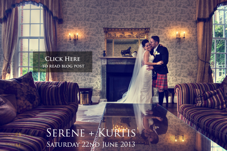 click on this beautiful wedding portrait to access the blog of Serene and Kurtis' wedding at  Parklands Quendon Hall  by  gavin conlan photography Ltd
