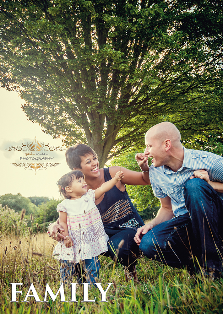 love your family? then why don't you book yourself a beautiful family lifestyle portrait sessionby gavin conlan photography Ltd