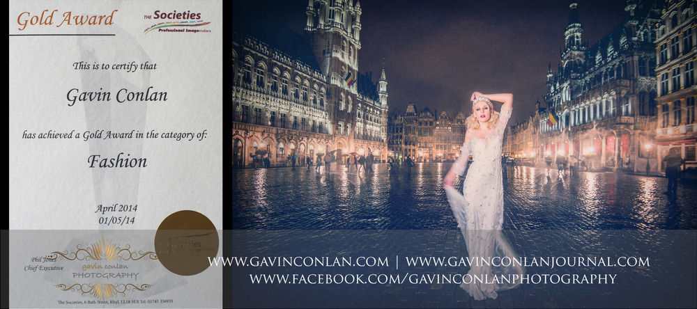 Gavin Conlan's Gold award winning photograph from April's Fashion category in the SWPP Monthly International Competition