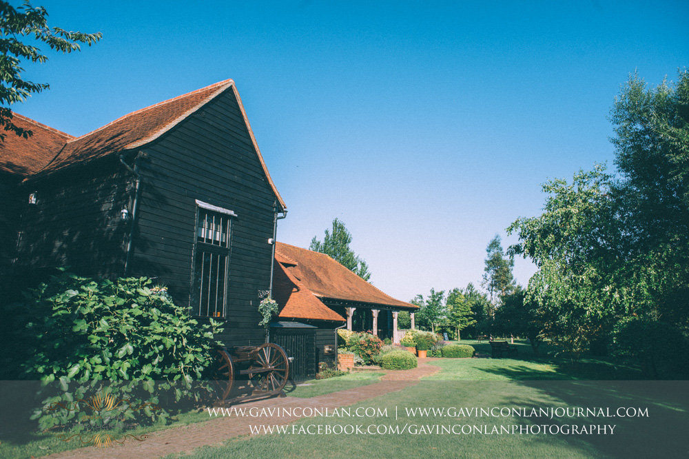 Crabbs Barn landscape photograph. Wedding photography at  Crabbs Barn  by  gavin conlan photography Ltd