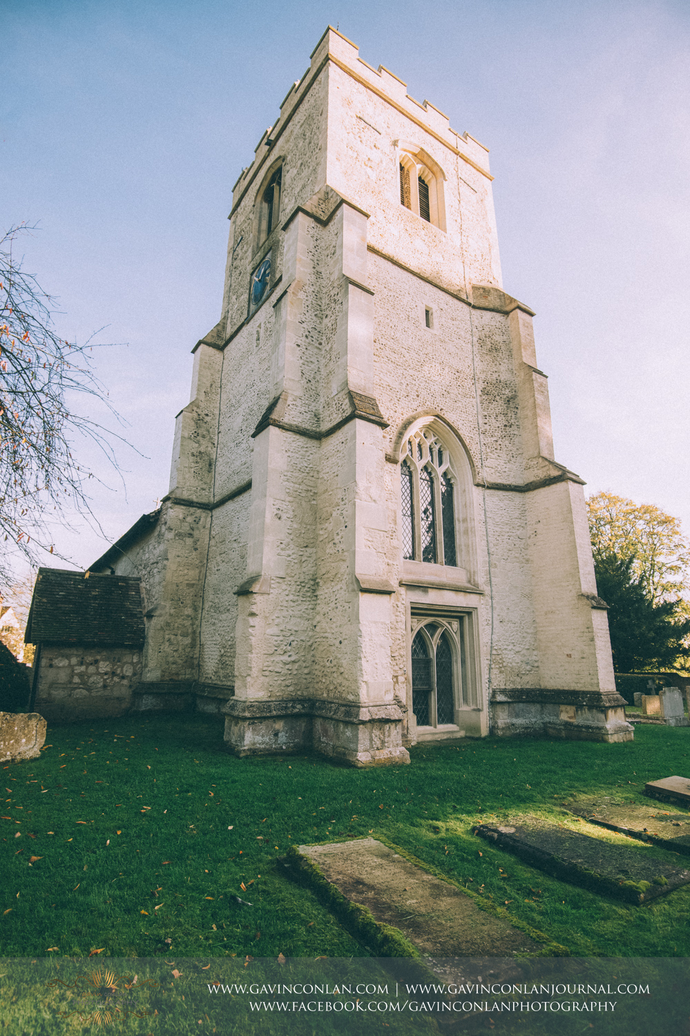 exterior of the Parish Church St. Andrew and St. Mary as featured in the ITV drama Grantchester, Cambridgeshire