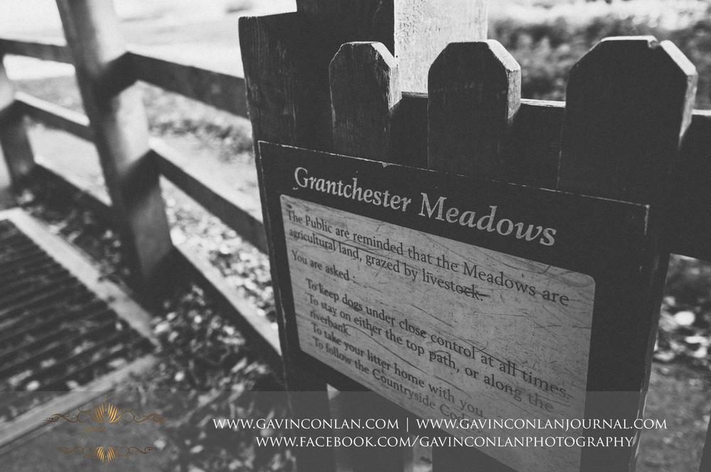 signpost of Grantchester Meadows, Cambridgeshire