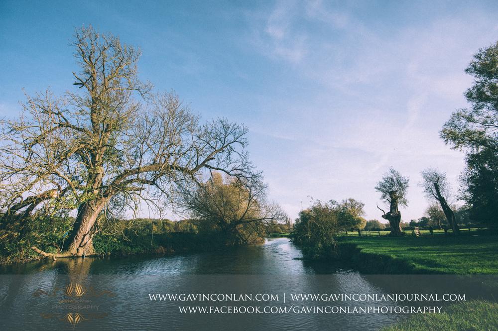landscape of the River Cam at Grantchester Meadows, Cambridgeshire