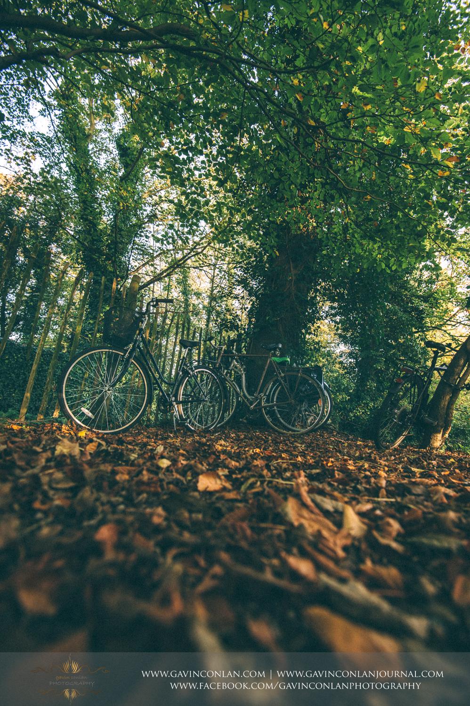 famous Cambridgeshire bicycles in Grantchester, Cambridgeshire