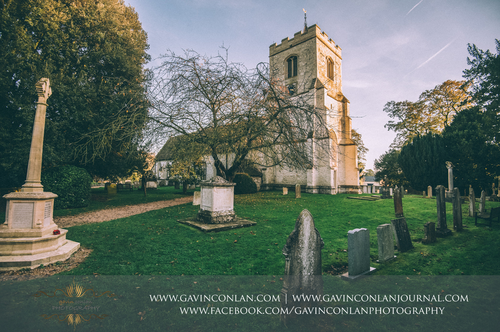 exterior of the Parish Church St Andrew and St Mary as featured in the ITV drama Grantchester, Cambridgeshire