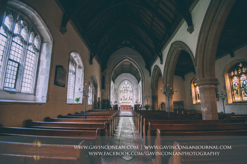 interior of the Parish Church St Andrew and St Mary as featured in the ITV drama Grantchester, Cambridgeshire