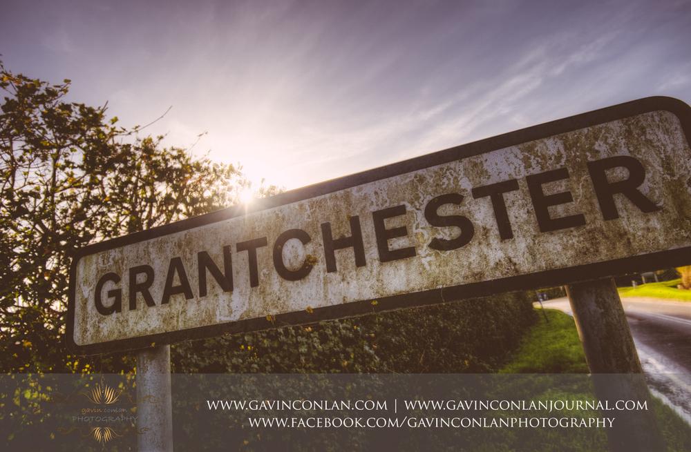 Grantchester street sign