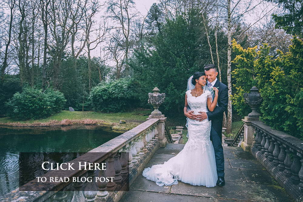 click on this beautiful portrait of the bride and groom in the grounds of the gorgeous Heatherden Hall  to read about the beautiful wedding of Sonia and Jeremy by  gavin conlan photography Ltd
