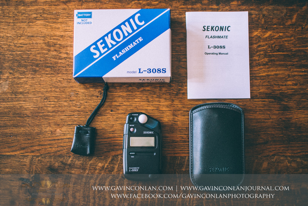 Photograph of the Sekonic L-308s Flashmate Light Meterunboxed