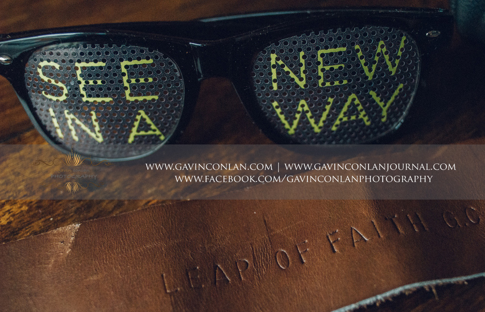Lensbaby See in a New Way sunglasses with my Leap of Faith leather camera strap