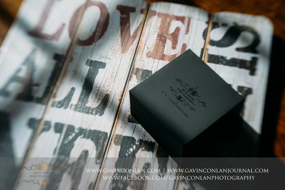 gavin conlan photography Ltd black branded USB custom slide box